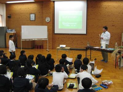 2時間も・・・(*_*) ごはんパワー教室in平荘小学校