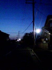 街灯が増えたね・・・・