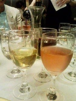 「ワイン」と「くずもち」