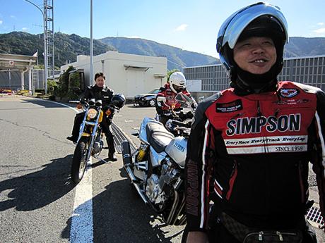 京都東インター料金所にて