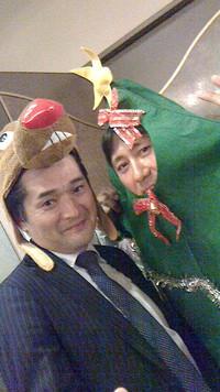 クリスマス例会にて