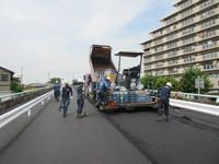 砂部陸橋舗装工事