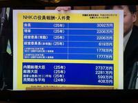 NHKの人件費