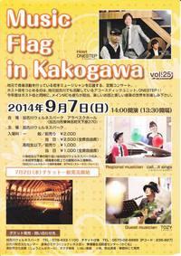 Music Flag in Kakogawa