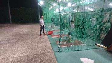 野球教室(北鈴バッティングセンター)