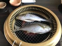 焼肉屋の焼き魚(無料)