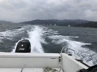 冬の魚釣り