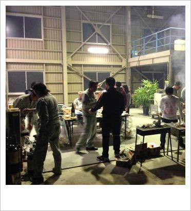 恒例の社内BBQ!!