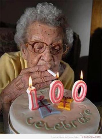 100歳スモーカー