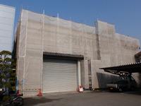 本社倉庫塗装工事