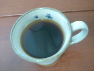 朝の一杯♪
