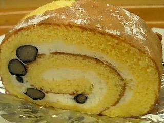 こっそりロールケーキ♪