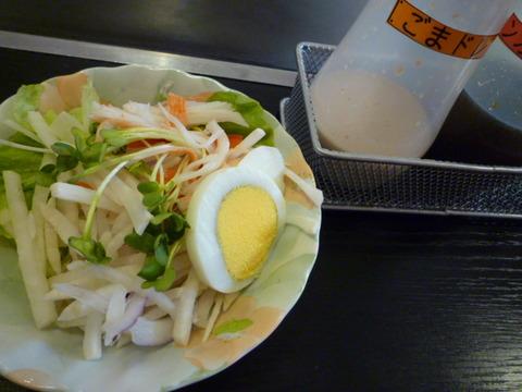 まつぼっくり☆とまとの塩焼そばランチ(高砂市米田町)