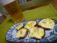 ビールのおつまみに☆椎茸のマヨチーズ焼き