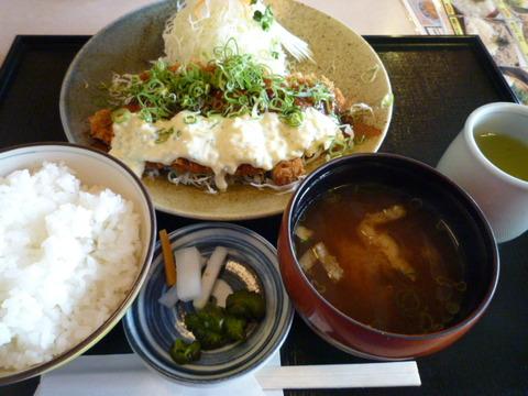 NAGASAWA かつ亭 ☆チキン南蛮定食(加古郡稲美町)