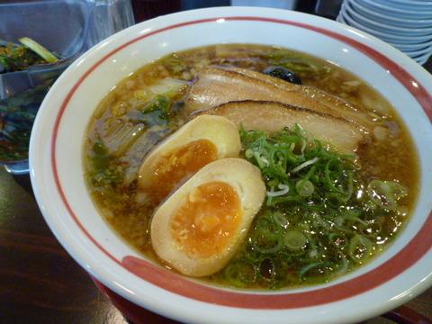 悟空倶楽部 ☆味玉ラーメン(姫路市市川橋)