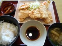 ジョイフル☆とり天定食