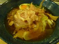 新在家ラーメン もんど☆あっさり和風醤油麺(加古川市平岡町)