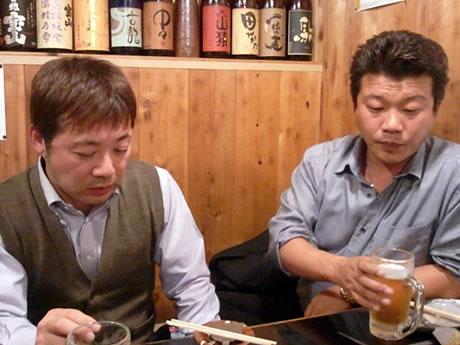 本田会長と山ちゃん