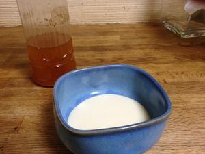 豆乳ヨーグルト作ってみた