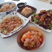 お料理教室♪