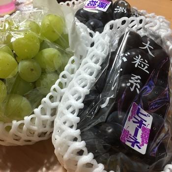 葡萄買いにお出かけしました