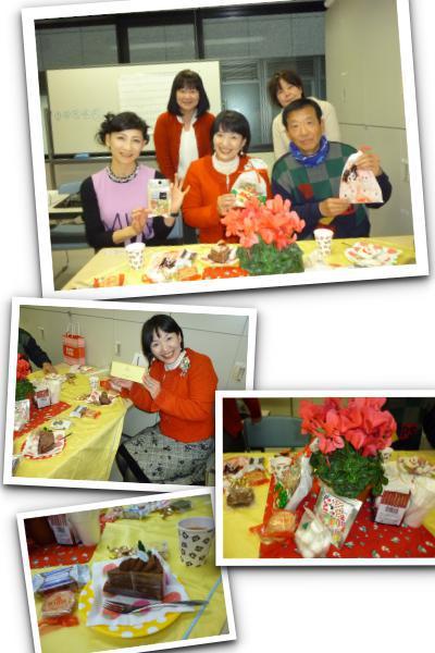 話し方教室のクリスマス会