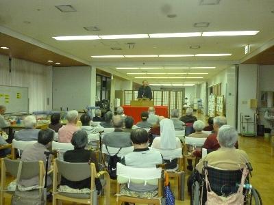 介護老人保健施設 マリア・ヴィラさんへ行ってきました