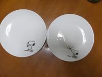 スヌーピーのお皿