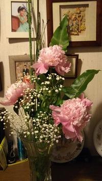 家にもお花