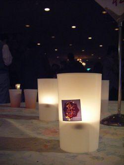 Candle Cafeは大盛況でした。