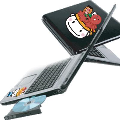 てんこもりんノートパソコン