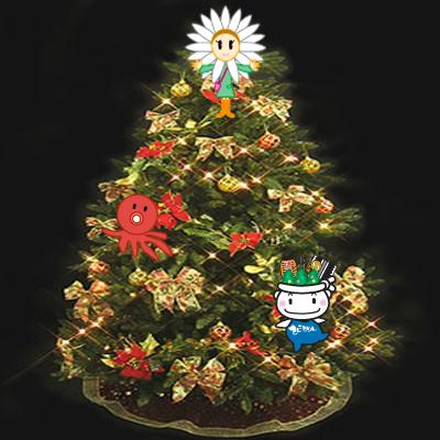 てんこもりんクリスマスツリー