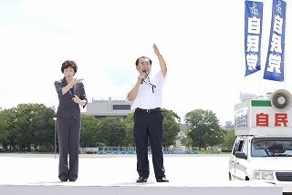 8・8政党演説会