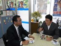 野口健さん来訪