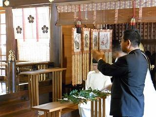 8・15護国神社参拝