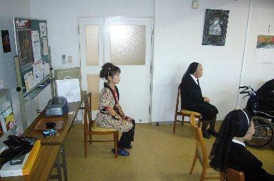 聖母奉献修道会へ行って来ました