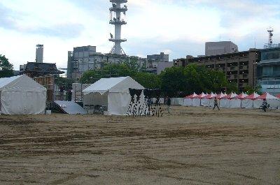 「祭り屋台 in 姫路」は明後日。