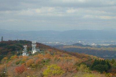 紅葉の生駒山