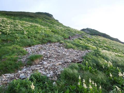 剣岳登山口付近