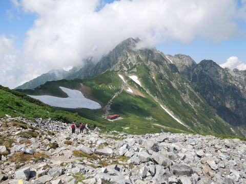 剱沢からの剣岳