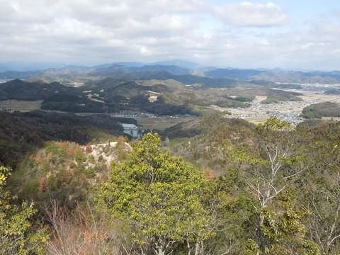 笠形山遠望