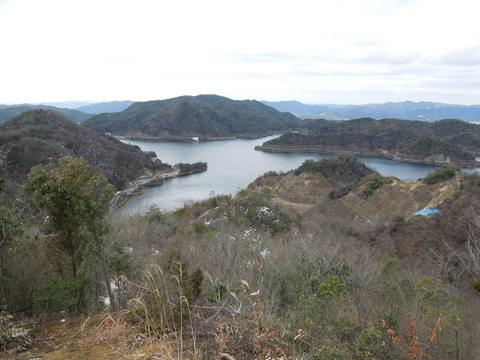 神谷ダム湖