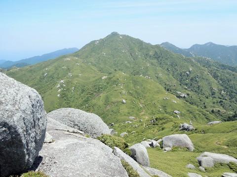 永田岳からの宮之浦岳