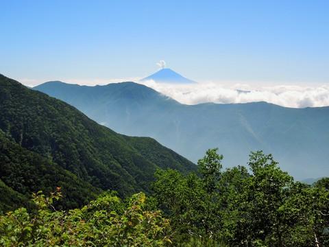 仁田岳からの富士山