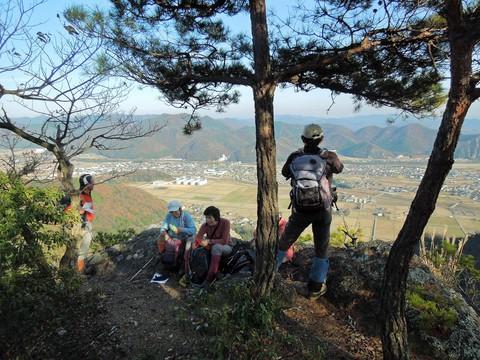 祇園獄山頂