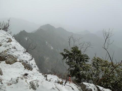 岩場からの眺望