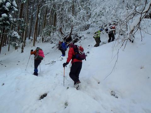 武奈ヶ岳登山口