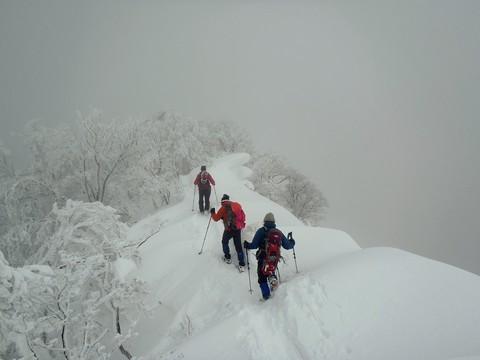 竜王山方向へ