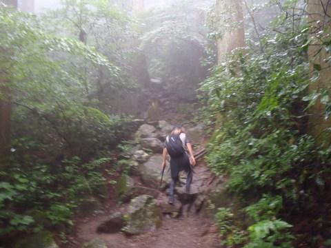 筑波山登山道